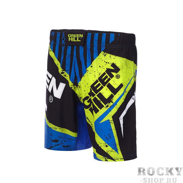 Шорты для MMA Green Hill Blue/Black (арт. 24734)  - купить со скидкой