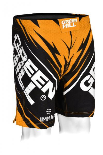 Купить Шорты для MMA Green Hill IMMAF оранжевые (арт. 24737)