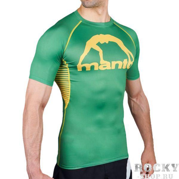 Купить Рашгард Manto Logo Green (арт. 24809)