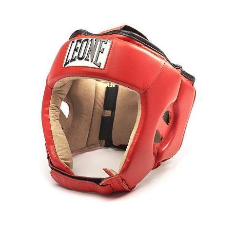 Купить Боксерский шлем Leone 1947 CONTEST CS400 красный (арт. 25149)