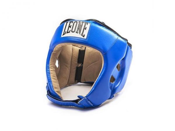 Боксерский шлем Leone 1947 CONTEST CS400 синий Leone
