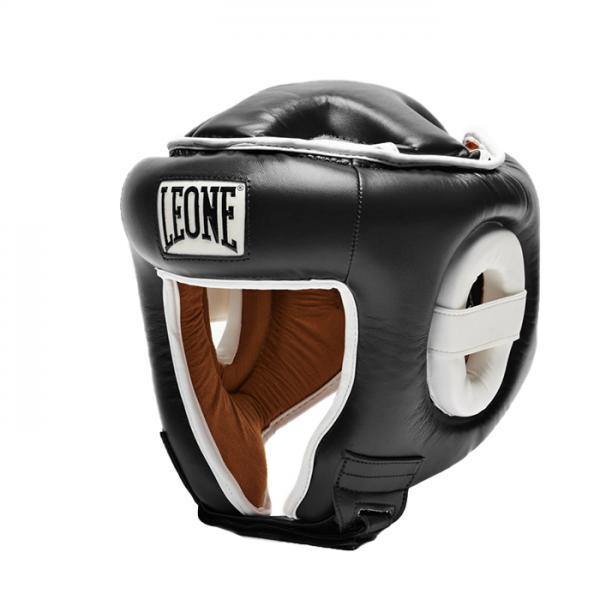 Боксерский шлем Leone 1947 COMBAT CS410 черный Leone