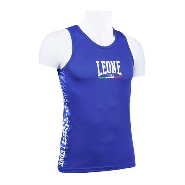 Майка боксёрская Leone 1947 AB726 синяя Leone