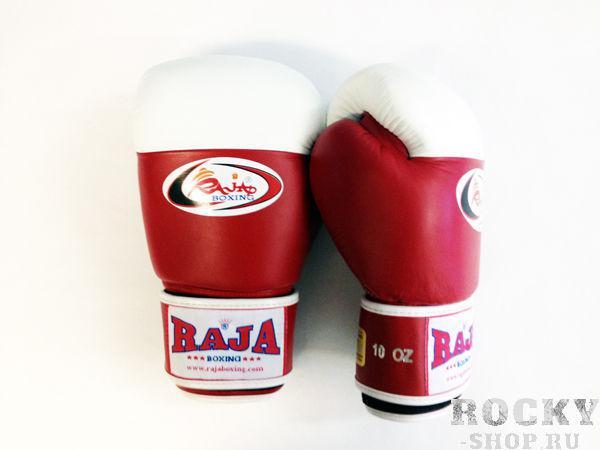 Перчатки боксерские соревновательные, липучка, 10 унций RajaБоксерские перчатки<br>Как правило, используют в международном боксе. <br> Они располагают белый кончик, чтобы помочь судье тренировочного боя. <br> Отличное исполнение.<br><br>Цвет: красный/белый
