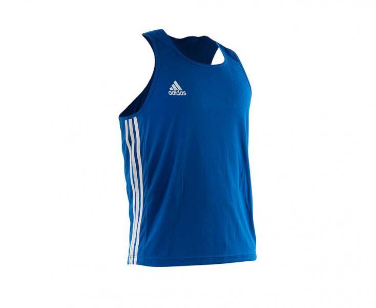 Майка боксерская Boxing Top Punch Line синяя Adidas фото