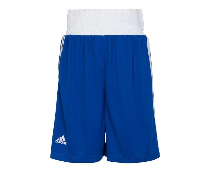 Купить Шорты боксерские Boxing Short Punch Line синие Adidas (арт. 25559)