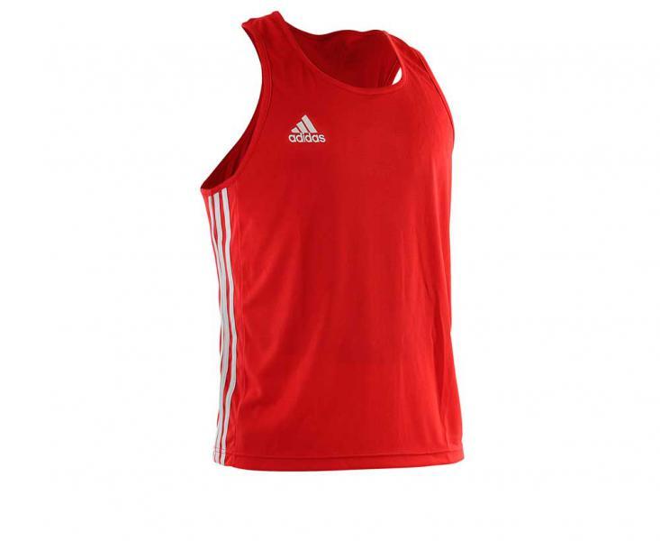Майка боксерская Boxing Top Punch Line красная Adidas