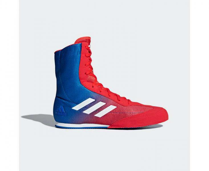 Боксерки Box Hog Plus красно-синие Adidas