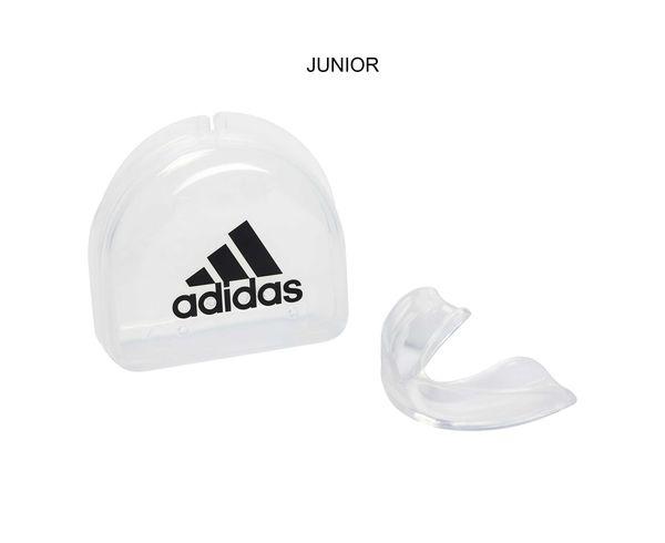 Купить Капа одночелюстная Single Mouth Guard Thermo Flexible прозрачная Adidas (арт. 25565)