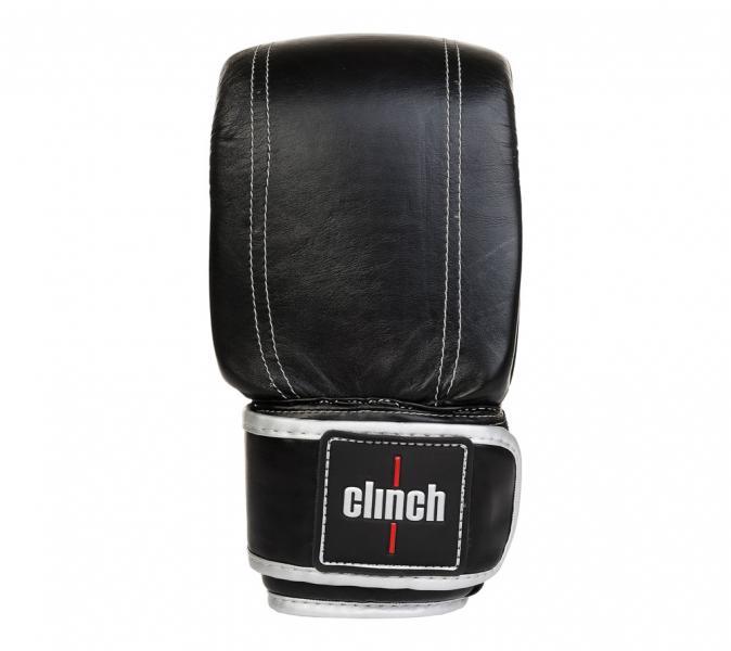 Перчатки снарядные Clinch Prime черно-серебристые Clinch Gear