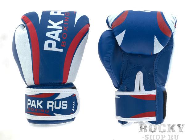 Детские боксерские перчатки PakRus, 4 унции Pak Rus