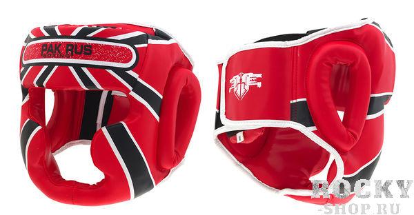 Купить Детский боксерский шлем Pak Rus Full Face, Red (арт. 25638)