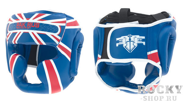 Детский боксерский шлем Pak Rus Full Face, Blue Pak Rus