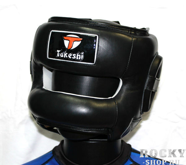Купить Шлем боксерский с бампером Takeshi Fight Gear, Black FG (арт. 25640)