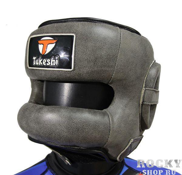 Купить Шлем боксерский с бампером Takeshi Fight Gear, Grey FG (арт. 25641)