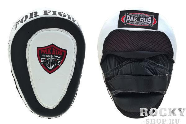 Боксерские лапы Pak Rus Gel, Black/White