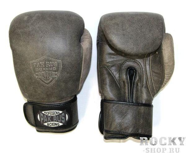 Боксерские перчатки Pak Rus, Grey Rus 10 oz (арт. 25654)  - купить со скидкой