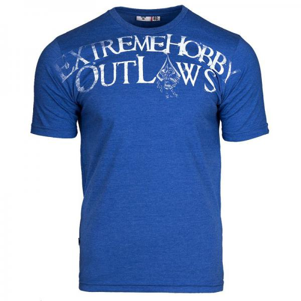 Купить Футболка outlaws (синий) Extreme Hobby (арт. 25681)