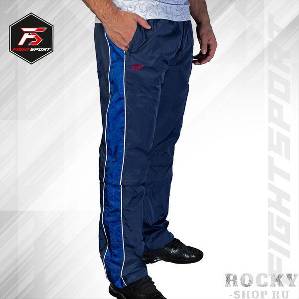 Купить Спортивные ветрозащитные брюки Universal Club Navy/Blue FightSport (арт. 25951)