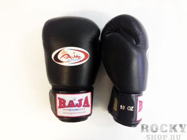 Перчатки боксерские тренировочные, липучка, 8 унций RajaБоксерские перчатки<br>Профессиональные перчатки. <br> Предназначены для более начальных боев Муай Тай или интернациональных боев. <br> Перчатки безупречно годятся для учебы.<br><br>Цвет: черный