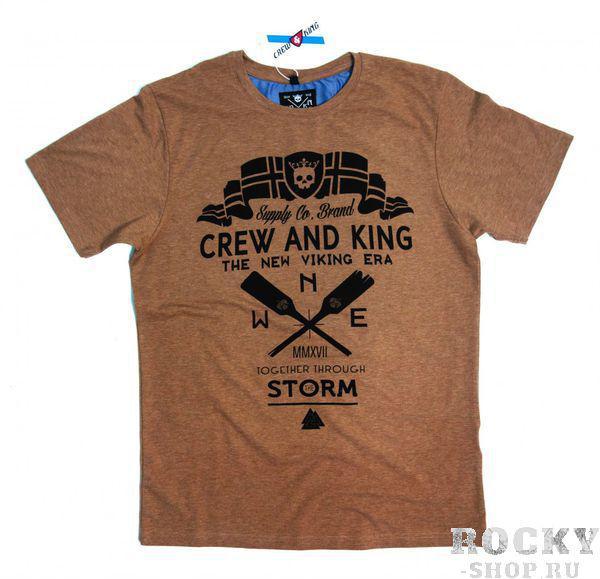 Купить Футболка Together Trough The Storm - Вместе Сквозь Шторм CrewandKing (арт. 26158)
