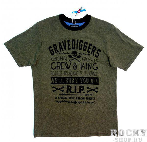 Купить Футболка Gravediggers - Гробокопатели CrewandKing (арт. 26161)