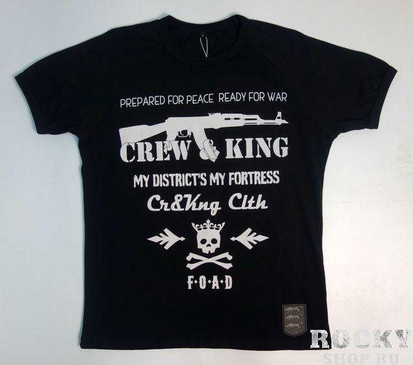 Купить Футболка F.O.A.D. (F#ck Off And Die) CrewandKing (арт. 26163)