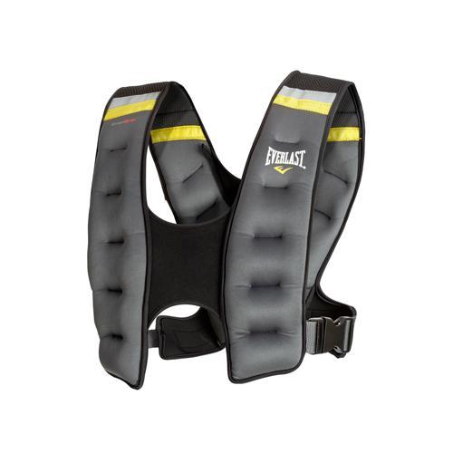Жилет с утяжелением Evergrip Weighted 10LB (4,5кг), 4,5 кг EverlastУтяжелители<br>Неопреновый жилет с встроенными железными утяжелителями и песком.Ремни для идеальной подгонки и комфорта.Технология Evergrip обеспечивает плотное одевание жилета и отсутствие съезжаний во время тренировкиРазмер подходит для большинства спортсменов<br>