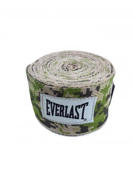 Боксерские бинты Everlast Camo, 2.5 метра Everlast фото