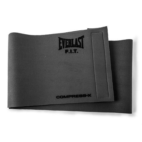 Пояс компрессионный Everlast Slimmer Belt, Grey, Серый