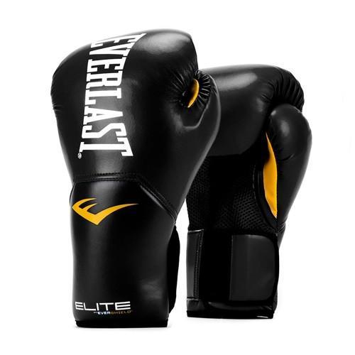 Купить Перчатки боксерские Everlast New Pro Style Elite, Black 12 oz (арт. 26252)