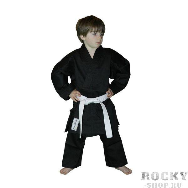 Детское кимоно Arawaza Lightweight WKF, Black Arawaza
