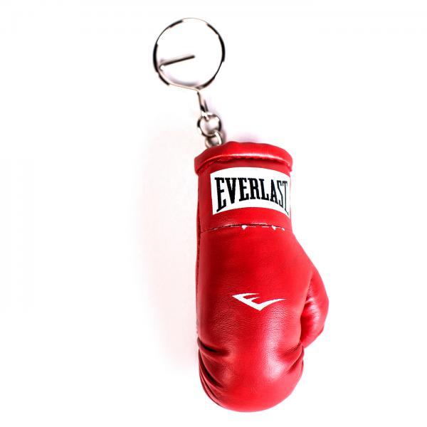 Брелок для ключей Everlast Mini Boxing Glove EverlastСувенирная продукция<br>Брелок в виде миниатюрной (около 5 сантиметров) модели боксерской перчатки от EVERLAST, снабженный кольцом для ключей. Превосходный подарок для каждого любителя бокса.<br>