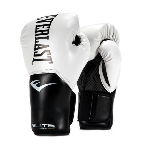 Купить Перчатки боксерские Everlast New Pro Style Elite, White 16 oz (арт. 26472)