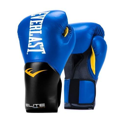 Купить Перчатки боксерские Everlast New Pro Style Elite, Blue 12 oz (арт. 26480)