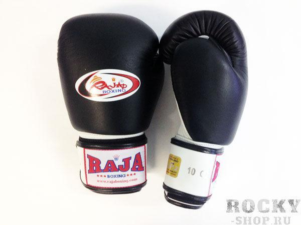 Перчатки боксерские тренировочные, липучка, 8 унций RajaБоксерские перчатки<br>Профессиональные перчатки. <br> Предназначены для более начальных боев Муай Тай или интернациональных боев. <br> Перчатки безупречно годятся для учебы.<br><br>Цвет: черный/белый