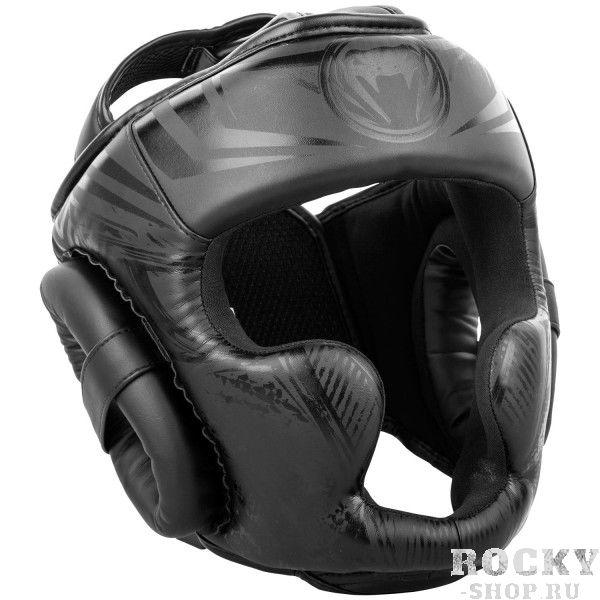 Купить Шлем боксерский Venum Gladiator Black/Black (арт. 26818)
