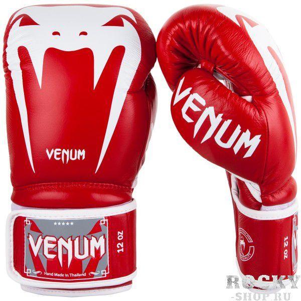 Перчатки боксерские Venum Giant 3.0 Red Nappa Leather 10 унций (арт. 26830)  - купить со скидкой