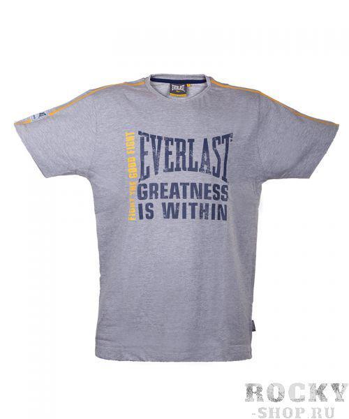 Купить Футболка Everlast Fashion Crew Neck серая (арт. 2695)