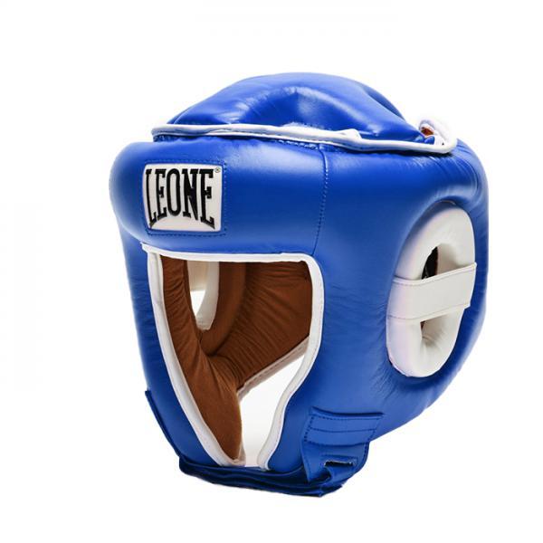 Боксерский шлем Leone 1947 COMBAT CS410 синий Leone