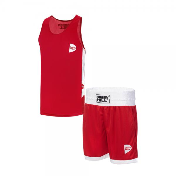 Детская боксерская форма Green Hill interlock, Красная Green Hill фото