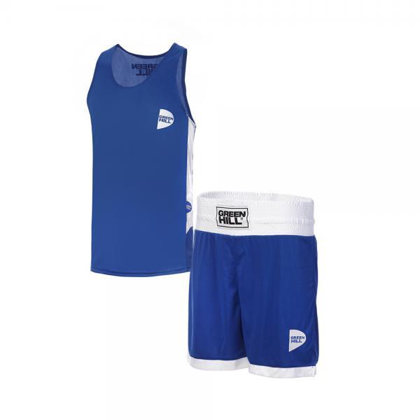 Детская боксерская форма Green Hill interlock, Синяя Green Hill