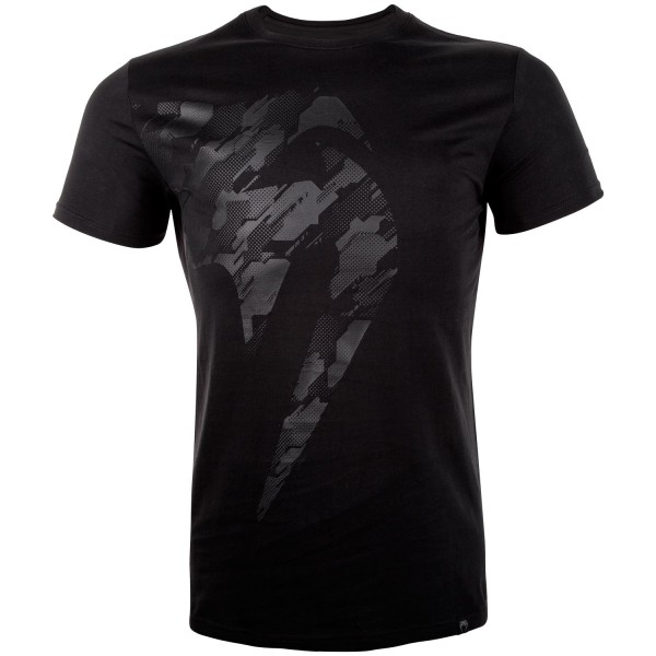 Футболка Venum Tecmo Giant Black/Black (арт. 27235)  - купить со скидкой
