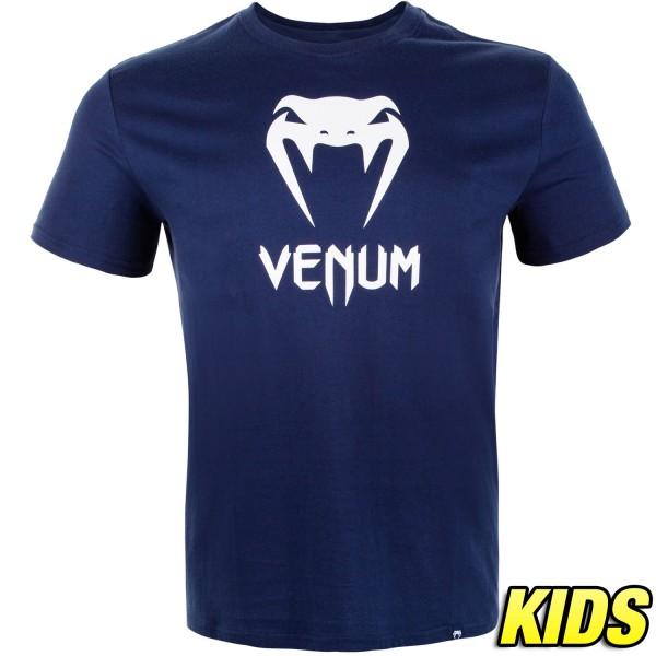 Футболка детская Venum Classic Navy Blue (арт. 27242)  - купить со скидкой