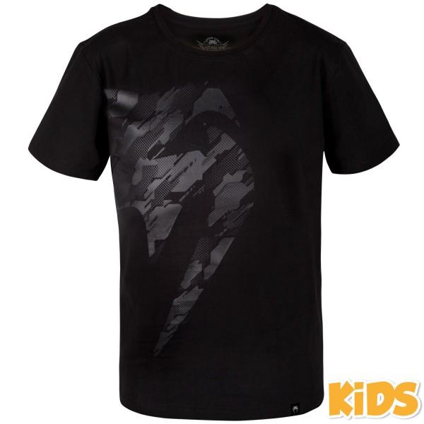 Купить Футболка детская Venum Tecmo Giant Black/Black (арт. 27243)