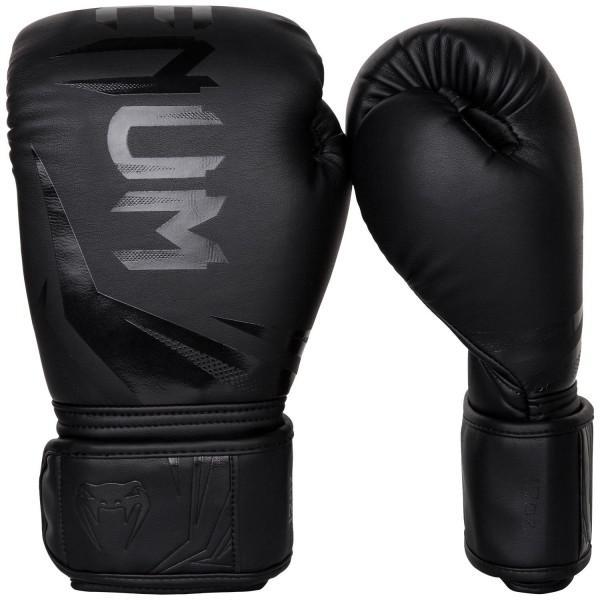 Перчатки боксерские Venum Challenger 3.0 Black/Black 12 унций (арт. 27306)  - купить со скидкой