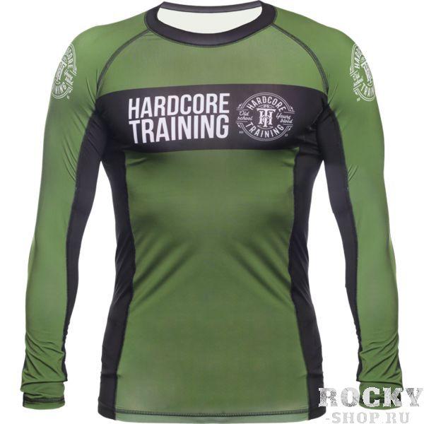 Рашгард Hardcore Training Olive 2.0 (арт. 27337)  - купить со скидкой