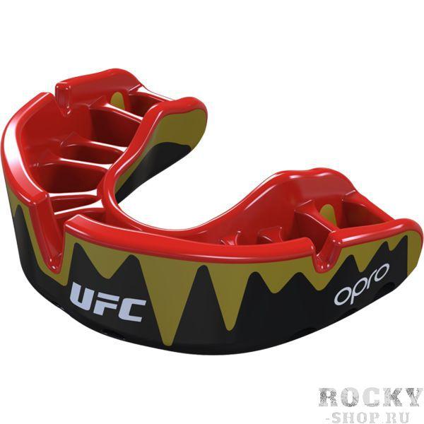 Боксерская капа Opro Platinum Level Fangz UFC (арт. 27372)  - купить со скидкой