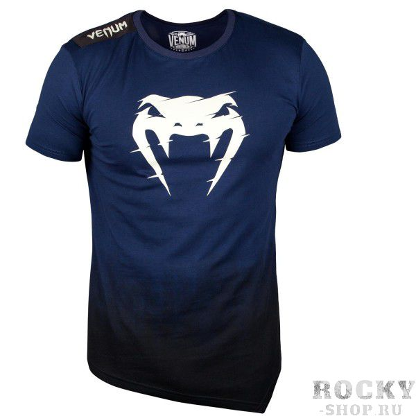 Купить Футболка Venum Interference 2.0 T-Shirt - Navy Blue (арт. 27573)