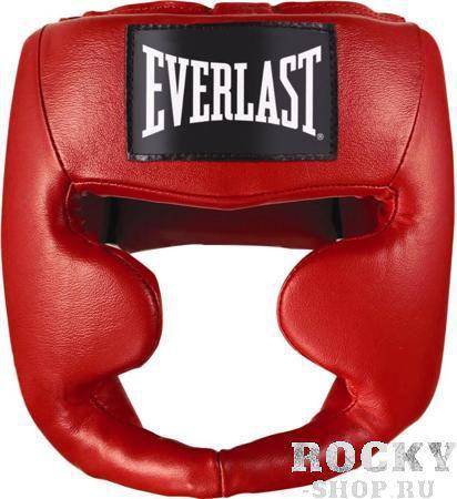 Купить Боксерский шлем, тренировочный Martial Arts Everlast красный 7620 (арт. 2765)